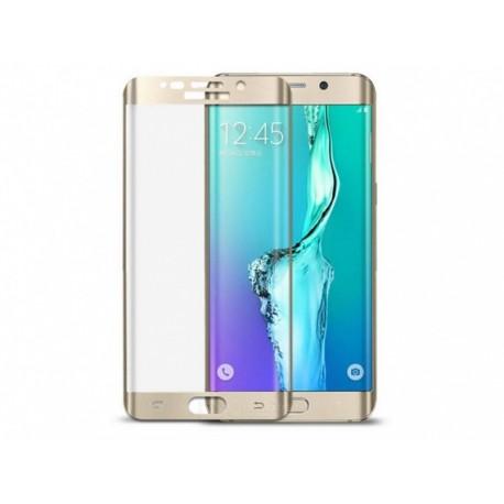 محافظ صفحه نمایش شیشه ای تمام چسب سامسونگ Galaxy S7 Edge