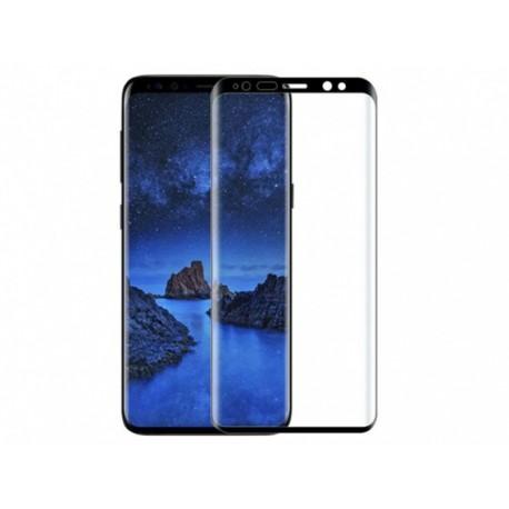 محافظ صفحه نمایش شیشه ای تمام چسب سامسونگ Galaxy S9