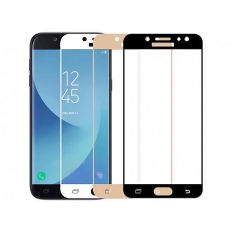محافظ صفحه نمایش شیشه ای تمام صفحه Galaxy J3 2017