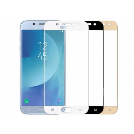 محافظ صفحه نمایش شیشه ای تمام صفحه سامسونگ Galaxy J3 Pro