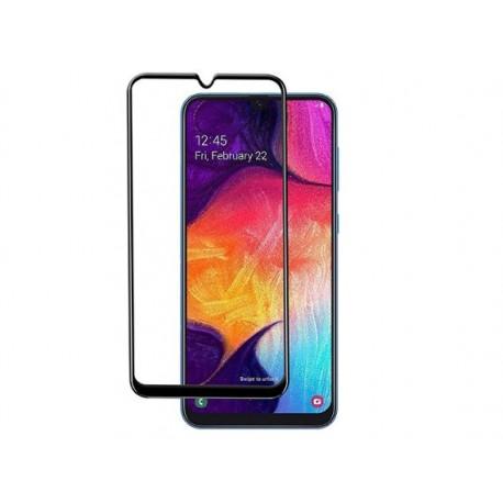 محافظ صفحه نمایش شیشه ای تمام چسب سامسونگ Full Glue Glass Samsung Galaxy A50